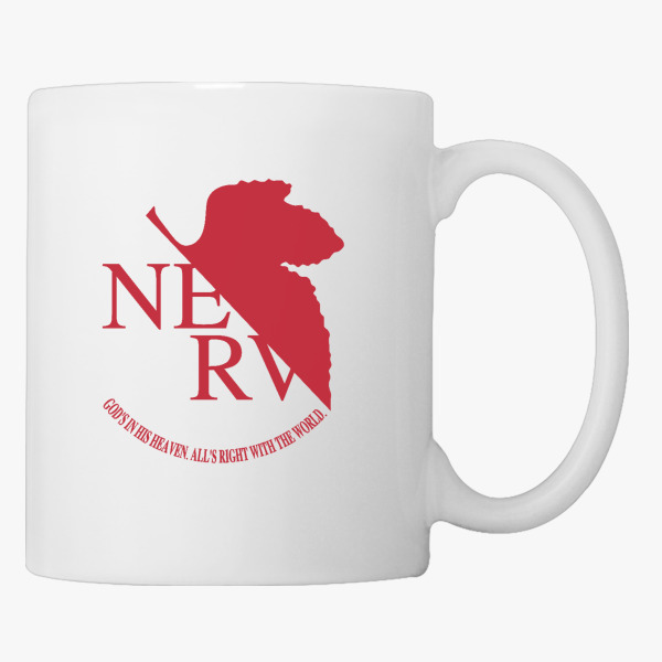 Nerv Logo Neon Genesis Evangelion Coffee Mug