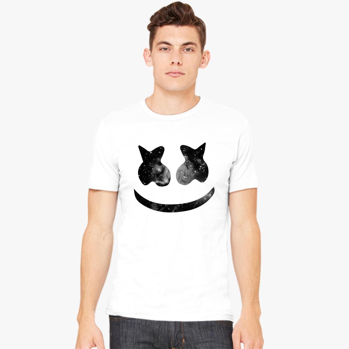 Marshmello face smile mens t shirt customon marshmello face smile mens t shirt stopboris Images