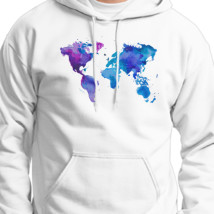 World map hoodie customon watercolor map of the world hoodie gumiabroncs Choice Image