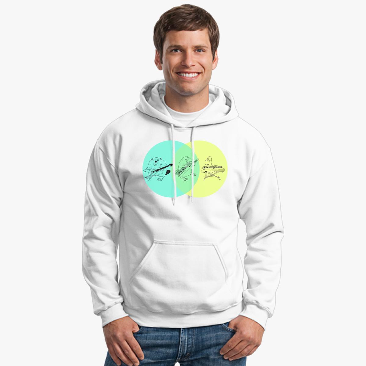 Keytar platypus venn diagram hoodie customon keytar platypus venn diagram hoodie pooptronica