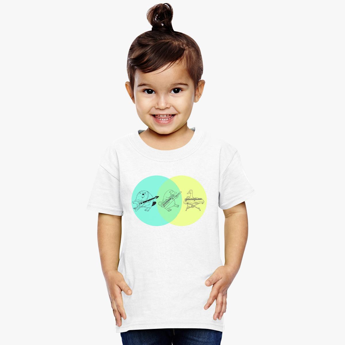 Keytar platypus venn diagram toddler t shirt customon keytar platypus venn diagram toddler t shirt pooptronica