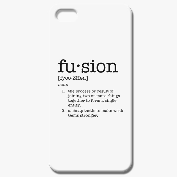High Quality Fusion Definition IPhone 5/5S Case