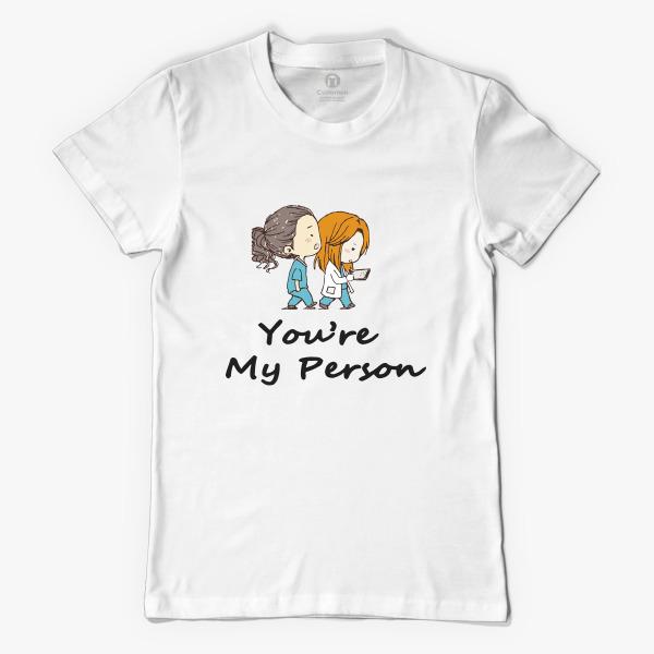 Grey\'s Anatomy - You are my person Women\'s T-shirt   Customon.com