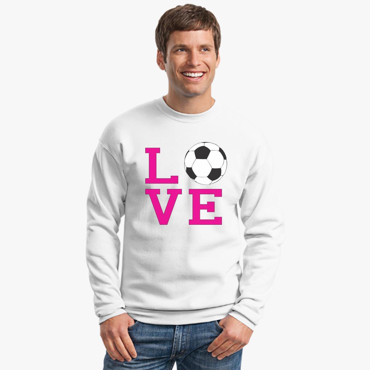Buy Love Soccer Crewneck Sweatshirt, 38782
