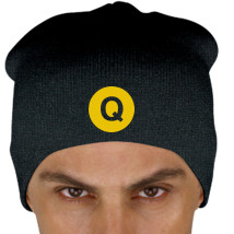 cda49299a3d Omega Psi Phi Q train logo Knit Beanie (Embroidered) - Customon.com