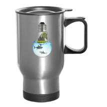 Shark LightBulb Travel Mug