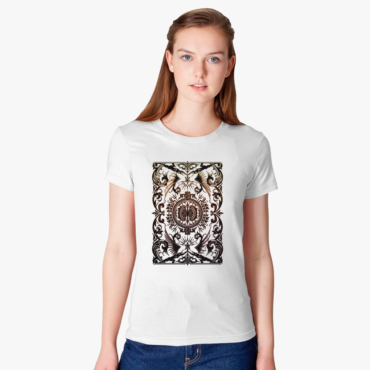 Abstact Batik Womenu0027s T Shirt