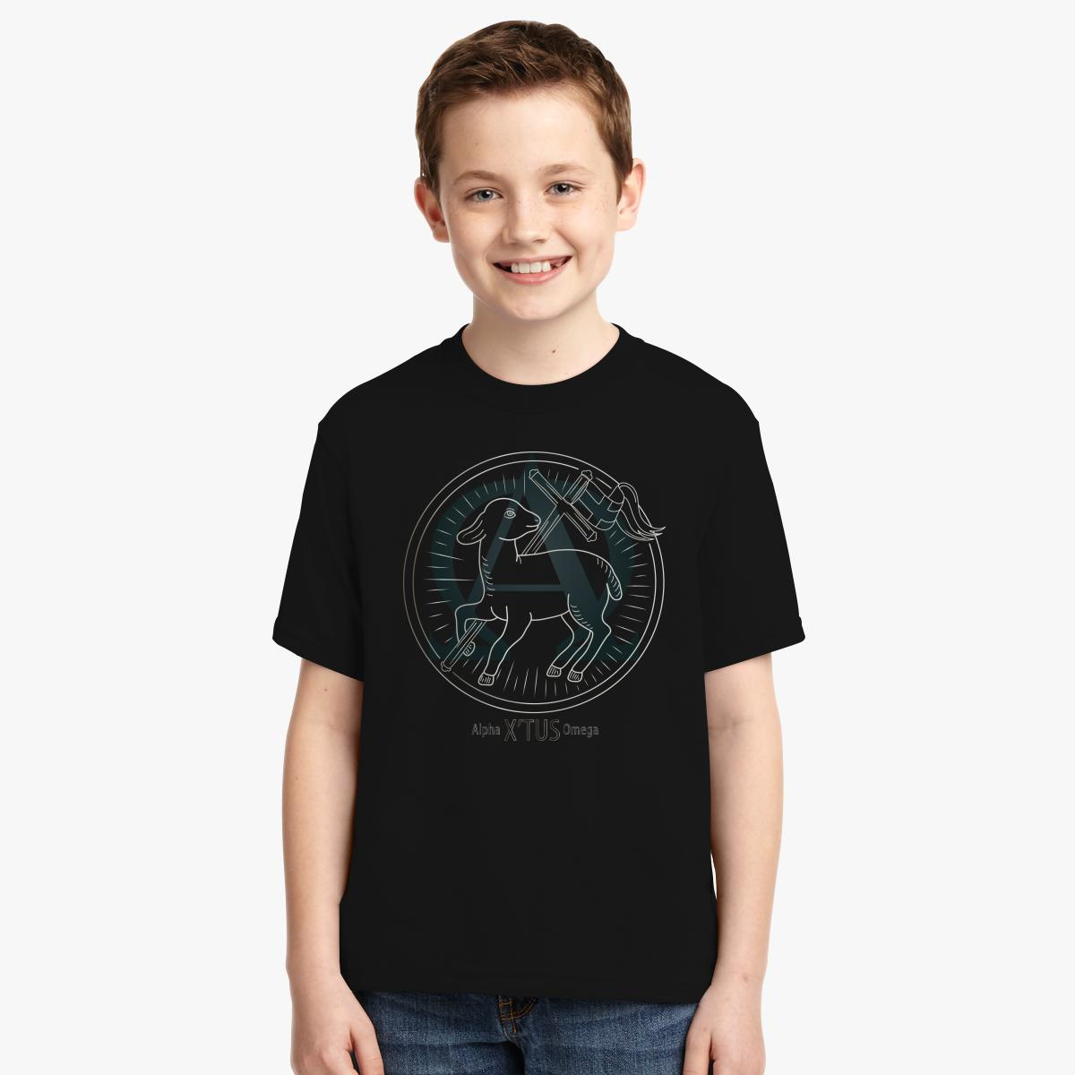 Buy Alpha Omega Youth T-shirt, 442841