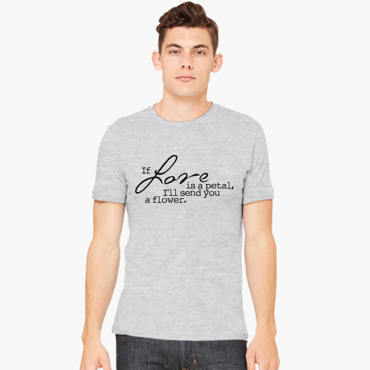 Love Quotes Clothing Love Quotes Men's Tshirt  Customon