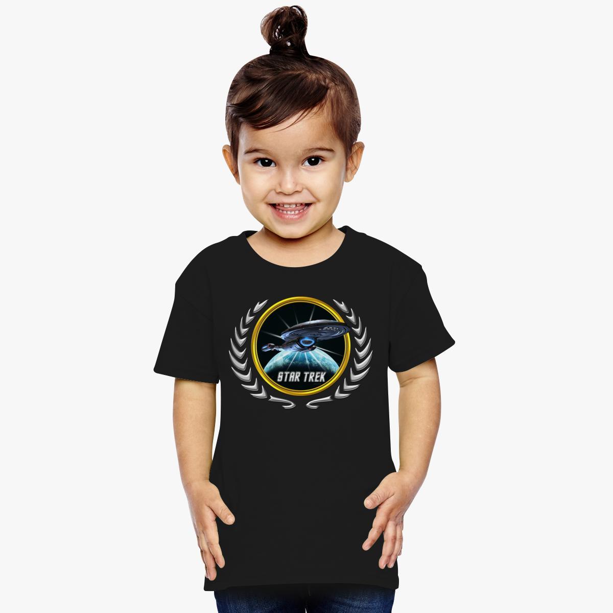 Buy Star trek Federation Planets Voyager 2 Toddler T-shirt, 529417