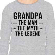 The man the myth the legend long sleeve t shirt customon grandpa the man the myth the legend long sleeve t shirt publicscrutiny Gallery