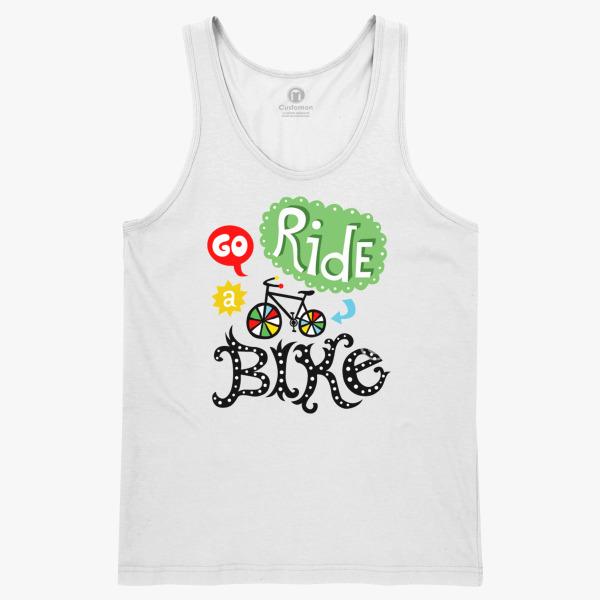 Go Ride A Bike Men S Tank Top