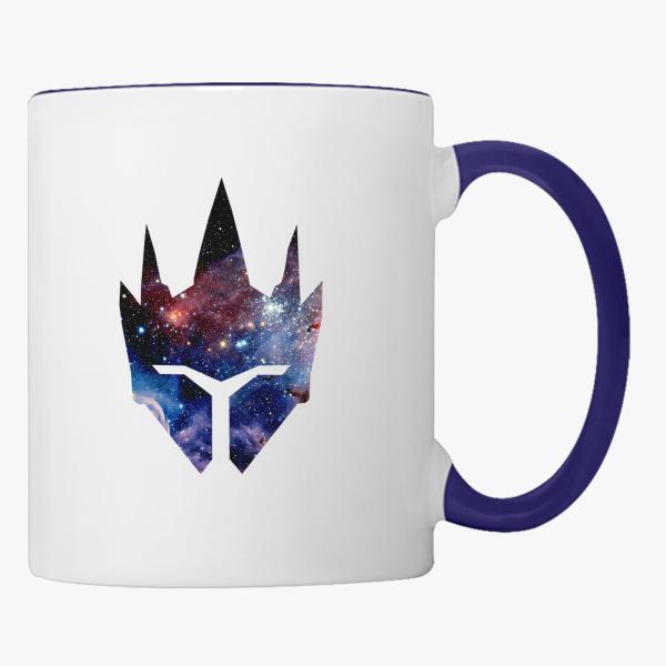 Overwatch Reinhardt Symbol Galaxy Coffee Mug Customon