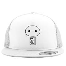 Big Hero Six Baymax face Trucker Hat (Embroidered) - Customon.com 92d0c496b83e