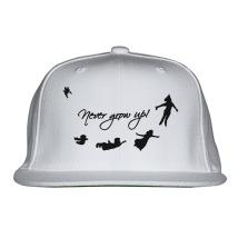 Never Grow Up Peter Pan Snapback Hat (Embroidered) - Customon.com 72073732f11b