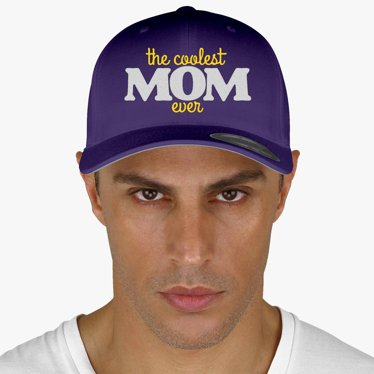 Coolest Hat Ever >> The Coolest Mom Ever Baseball Cap Customon Com