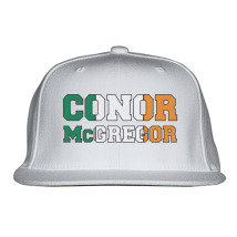 02334f22058 CONOR MCGREGOR IRISH Snapback Hat (Embroidered) - Customon.com