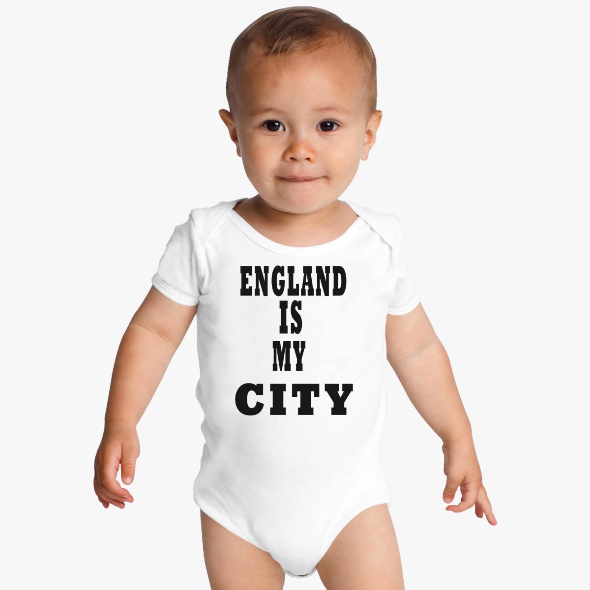 England Is My City Baby Onesies