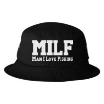 3e0bd4ef39a MILF Man I Love Fishing Bucket Hat - Customon.com